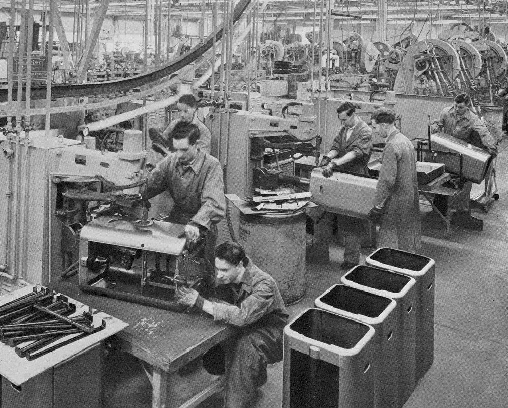 Official Opening Of Hoover Factory